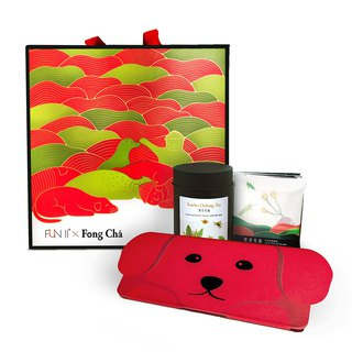 Gift Box (Crimson Oolong Tea + Honey Oolong Tea) | FUN ll x Fong Cha