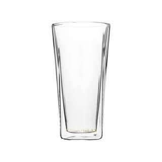 SQUARE Double Cup - Crystal Clear 240ml