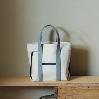 Unsymmetrical small Totes white