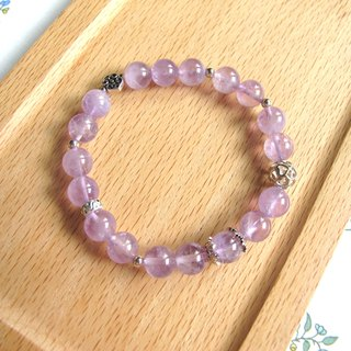 [Welfare Products - Purple Smoothie] Amethyst x 925 Silver - Handmade Natural Stone Series