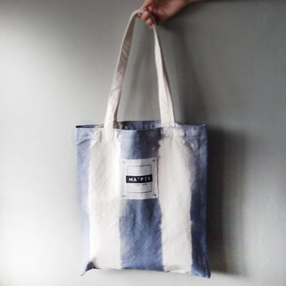 Iron Dye Direct - Canvas Hand Dye Tote Bag Back