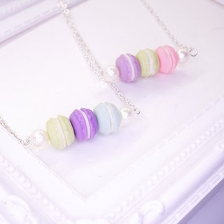 *Playful Design* Mini Macarons Necklace