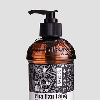 Tea seed house water hibiscus shine shampoo 330mL [hair mites and general hair quality apply]
