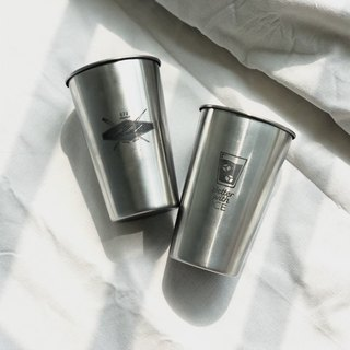 Better with ice stainless steel cup