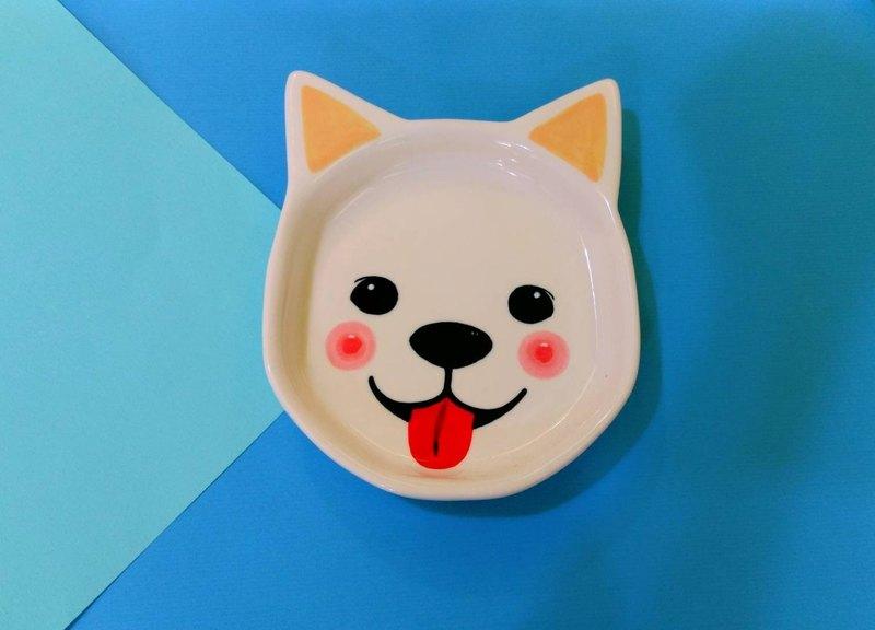 Valentines Day Birthday Gift Preferred Cake Face White Shiso Dog