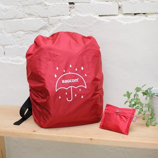 Universal Backpack Waterproof Rain Cover - Red (Anti-fouling, Anti-Theft)_108009