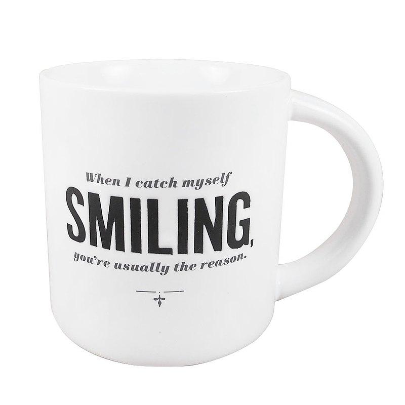 因為你微笑著【Hallmark-文字禮品 馬克杯】