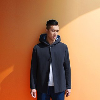 Hooded Jersey Jacket