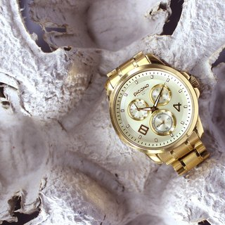 【PICONO】Fashionable / Golden watch / SF-22802