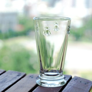 Bee glass high cup