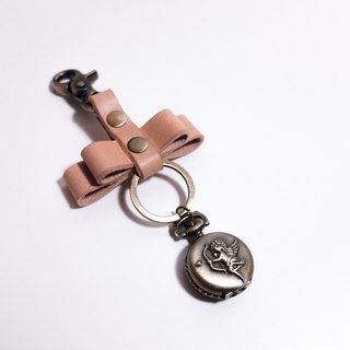 Bow Tie Keychain with Angle Watch