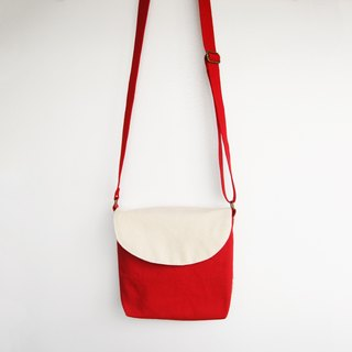 Christmas candy cane oblique backpack