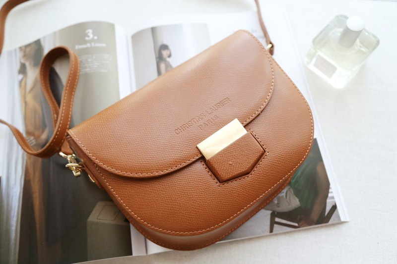 Christian Laurier-INES Saddle Bag (Camel Brown)