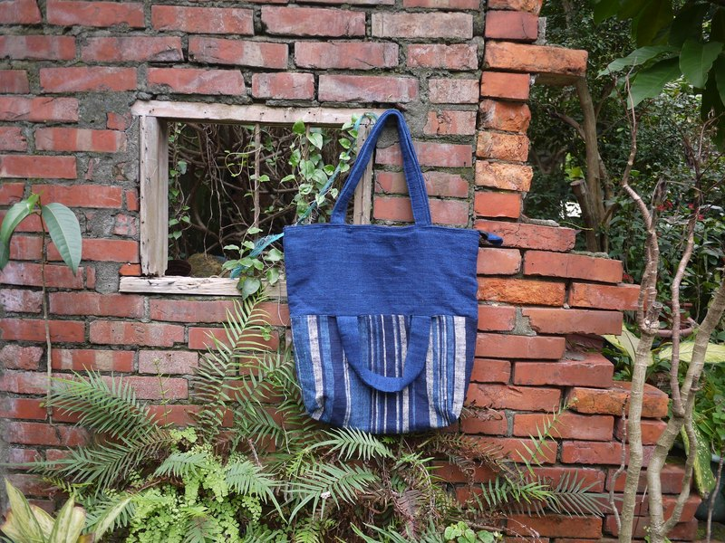■ ■ foreign Ga earth creative hand-woven vegetable dyes change into small dorsal / handbag
