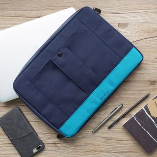 "GRITTY | SLEEVE FOR MACBOOK AIR 11"" / MACBOOK 12"" - BLUE"