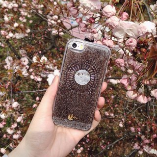 TWILIGHT NISHA - PHONE CASE / BROWN
