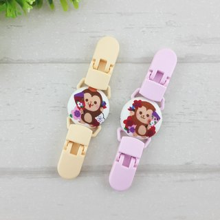 Fly monkey. Handkerchief clip / universal clip / toy clip / double head clip