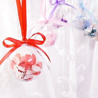 WANYI does not withered flower ball ornaments small flower ball dry flowers / gifts / no withered flowers / layout / wedding