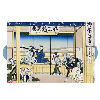 Ukiyo-e-box [Hallmark-card classic wind / multi-purpose]