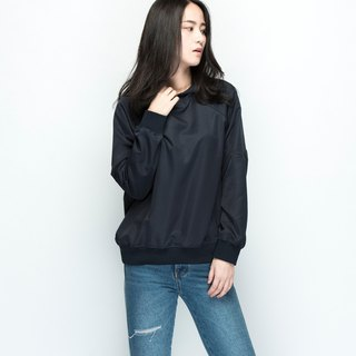 Hao Navy Waterproof Hoodie Dark Blue Waterproof Cap Tee