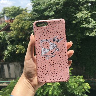 YASUMU CASE : peach colour