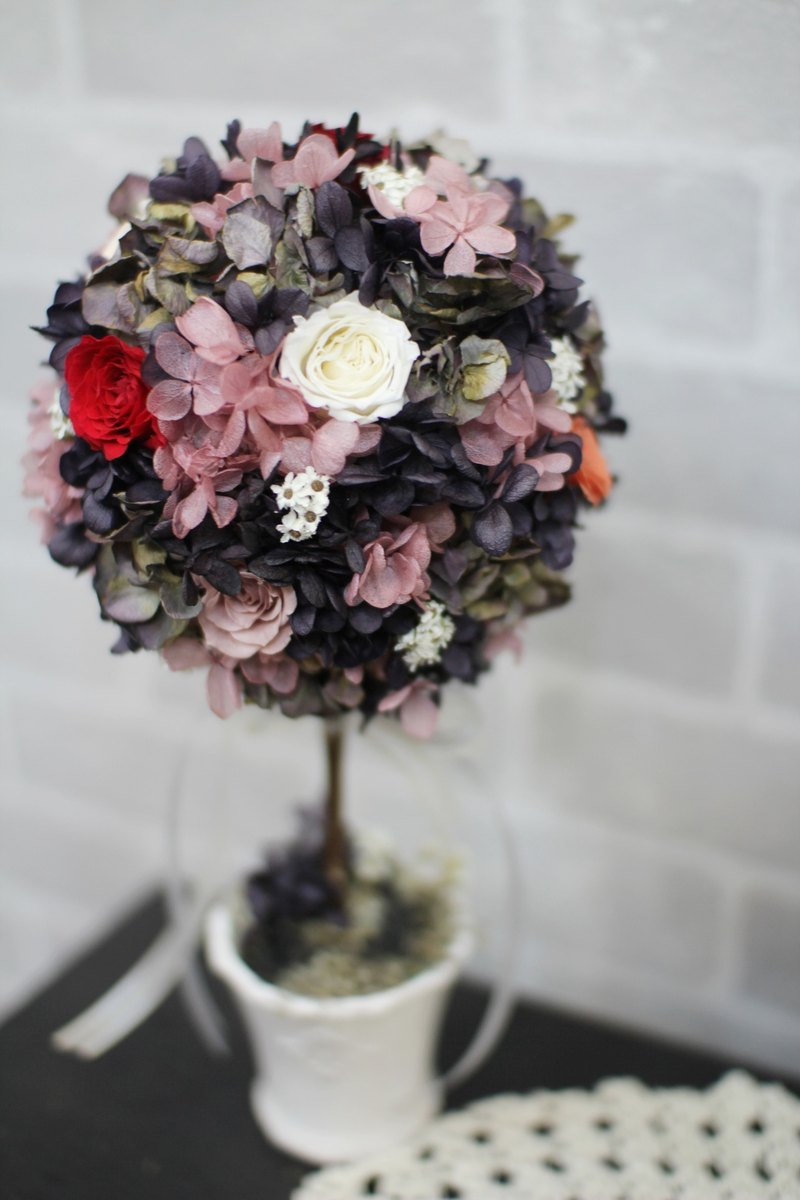 Hydrangea blooms eternal black eternal flower dried flower hydrangea blooms eternal black eternal flower dried flower bouquet jewelry izmirmasajfo