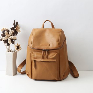 handmade leather  Unisex bags/ backpack / zipper bags