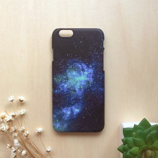 Blue-Purple and Green Galaxy. Matte Case( iPhone, HTC, Samsung, Sony, LG, OPPO)