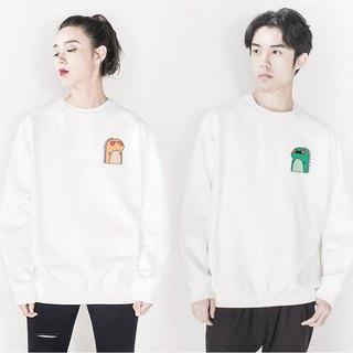 Male Dino Female Dino couple sweatshirt