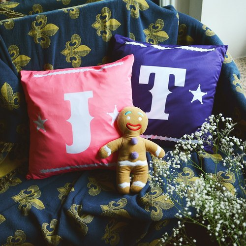 Customized Cushion/ Pillowcase (1 Pair) - P POP Series ♥ Perfect for Home Decor / Anniversary Gift / Bridal Shower / Birthday Gift!