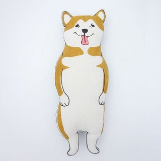 stuffed animal - shiba-inu (aka) pocket size- | 赤柴 ヌイグルミ