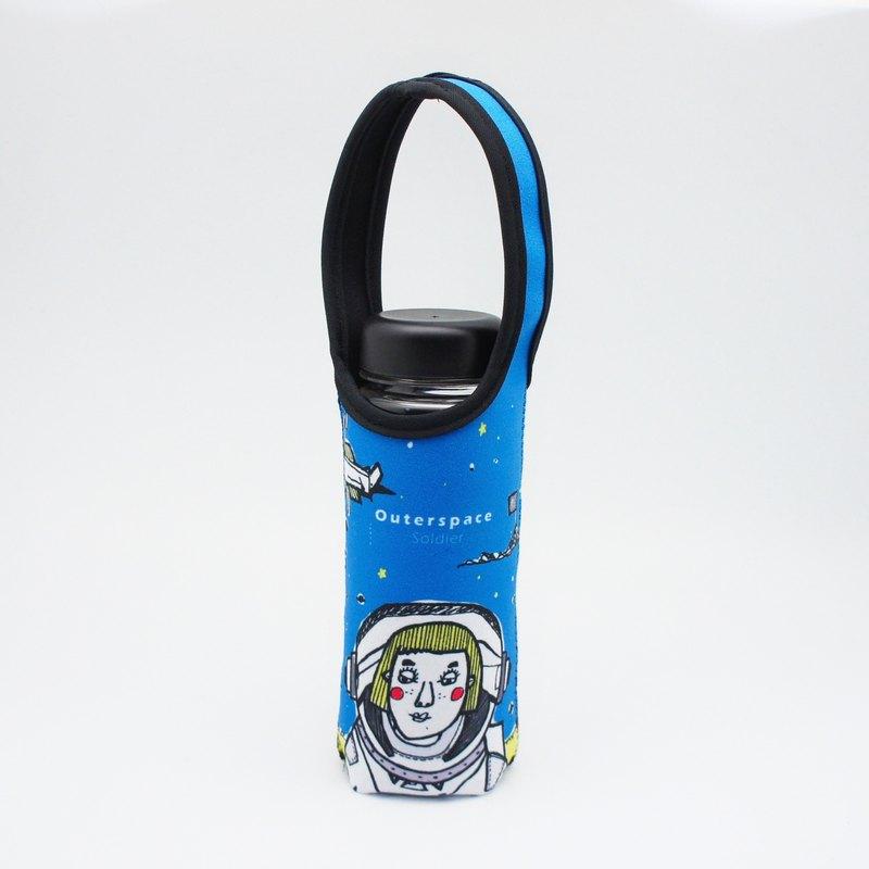 BLR 提把 保溫瓶套 Magai's 聯名款 太空 水壺袋 TC22