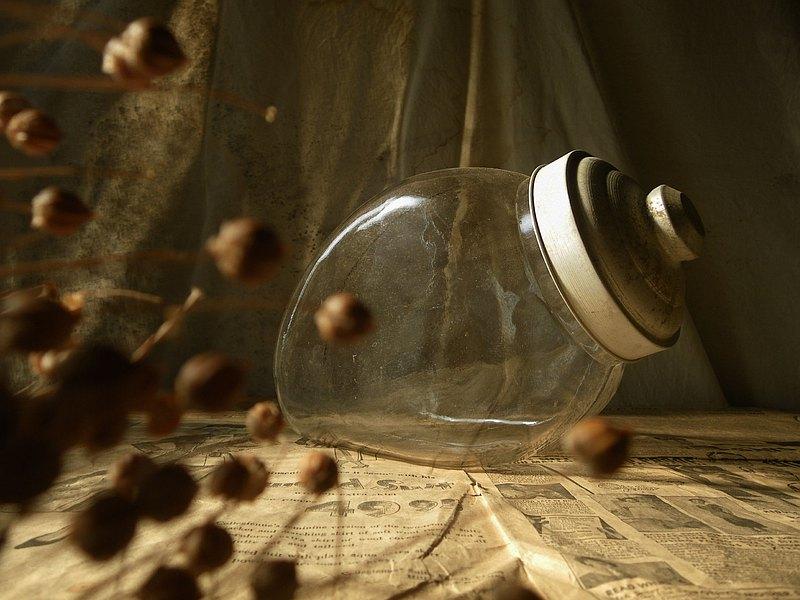 【老時光 OLD-TIME】早期玻璃兔罐玻璃糖果罐(小)*僅寄郵局*