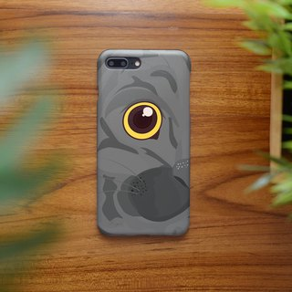iphone case close up gray cat right for iphone 6, 7, 8, iphone xs , iphone xs ma