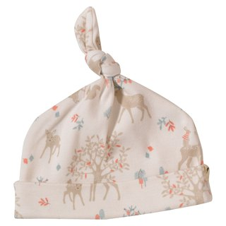 100% organic cotton sika deer baby cap