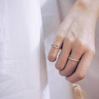 925 Silver Tail Finger Ring · Knitting Style ·