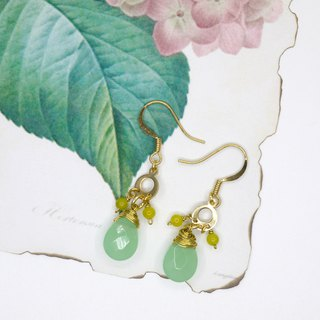 [Riitta] lemon yellow earrings (can change clip)