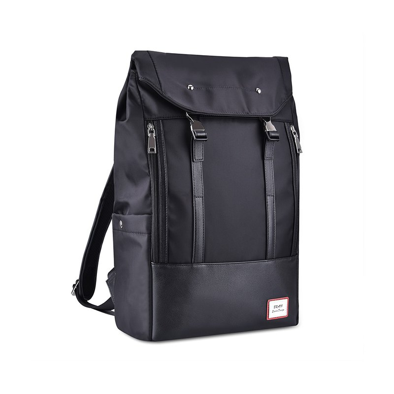 Black laptop computer travel to work large-capacity waterproof backpack - bp001