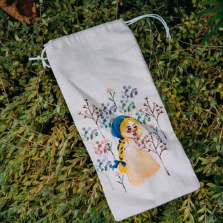 Spring flower season environmental protection chopsticks bag