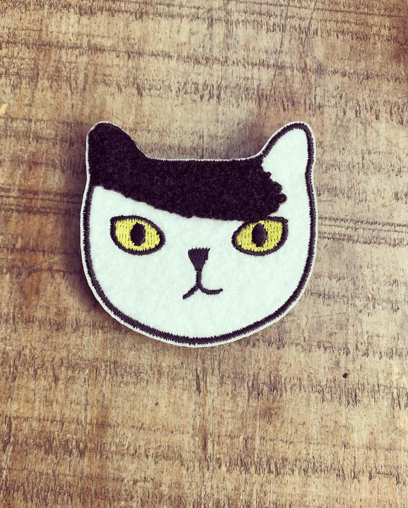 Little charming tiger cat pin