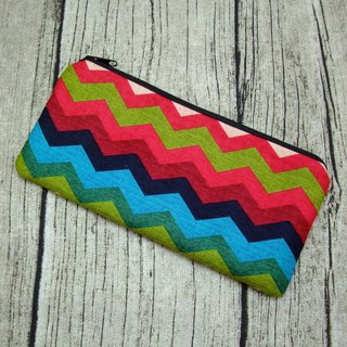 Large Zipper Pouch, Pencil Pouch, Gadget Bag, Cosmetic Bag (ZL-84)