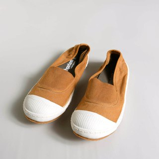 Casual shoes-ANN-d khaki yellow