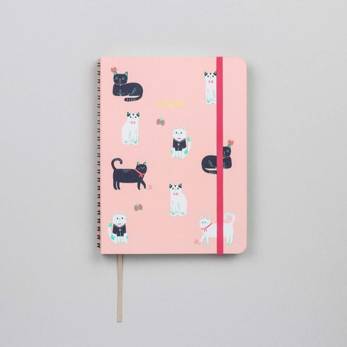 Cats Pink A5 Notebook / Sketchbook