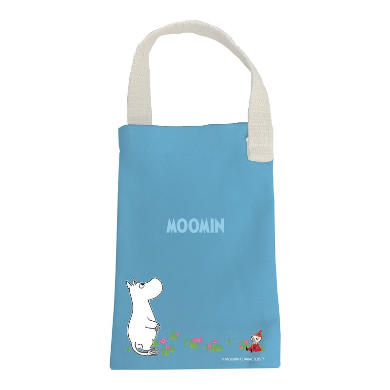 Moomin 噜噜米 authorized - kettle bag (blue), AE04