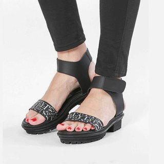 Zeus Leather Sandal