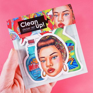 Keep it Clean - Sticker Set