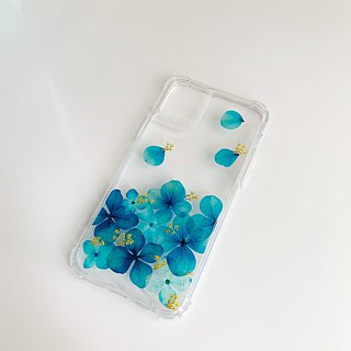Spring After Spring:: Graduation Gift Dry Flower Transparent Phone Case