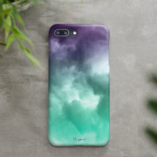 purple green cloud iphone case สำหรับ iphone7  iphone8, iphone8 plus , iphonex