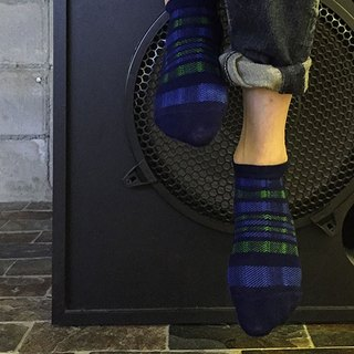 靴下ドックス / check / irregular / socks /