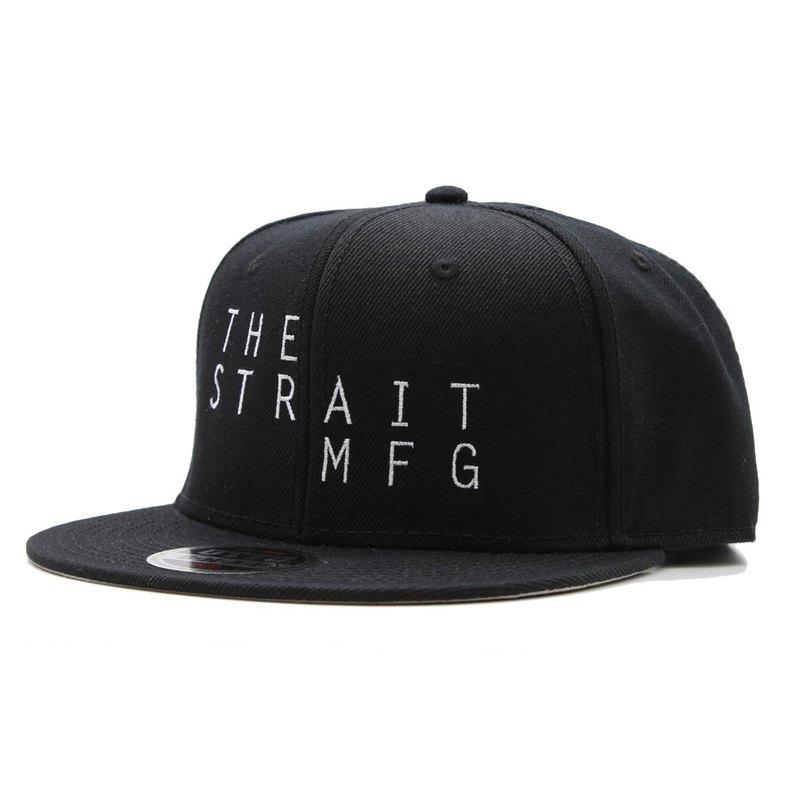 e27b2827596 TSM SNAPBACK CAP   BLACK - Designer THE STRAIT